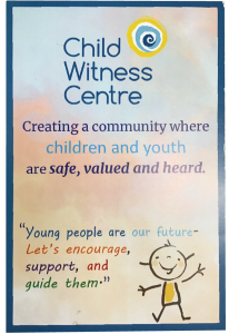 The Waterloo Region Child Witness Centre Promotional Card